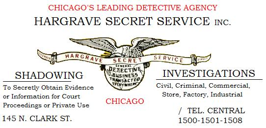 History of Hargrave Secret Service (1/6)