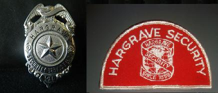 Hargrave Security badge & patch